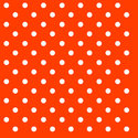 papieren-servetten-cocktail-Ambiente-DOTS-ORANGE-oranje-witte-stippen-25x25cm