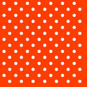 papieren-servetten-lunch-diner-Ambiente-DOTS-ORANGE-oranje-witte-stippen-33x33cm