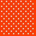 papieren-servetten-lunch-diner-Ambiente-DOTS-ORANGE-oranje-witte-stippen-33x33cm