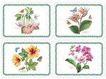 placemats-Exotic-Botanic-garden-kunststof-kurk-set/4-Pimpernel-Portmeirion
