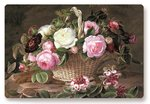 Dunne-placemats-PP-polypropyleen-OLD-ENGLAND-ROSES-roos-mand-rozen-45x30cm