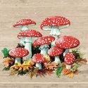 papieren-herfst-servetten-AGARICS-paddestoelen-rood-witte-stippen-33x33cm