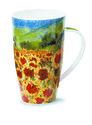XL-beker-mok-fbC-Henley-PAYSAGE-Sunflower-Zonnebloemvelden-geel-600ml-Frankrijk-Italie