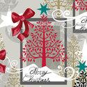 Ambiente-papieren-servetten-MODERN-XMAS-kerstboom-tekst-Merry-Christmas-33x33cm