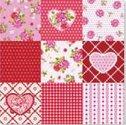 papieren-servetten-Nouveau-bloemen-ROSY-HEART-hartjes-Roos-Rozen-33x33cm