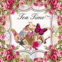 papieren-servetten-Nouveau-CLAUDIA-Tea-Time-theepot-roosjes-25x25cm