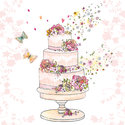 Ambiente-papieren-servetten-FLOWERED WEDDING CAKE-25x25cm-trouwtaart-roze-cocktail