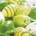 papieren-servetten-Pasen-eieren-groen-voorjaar-lente-33x33cm