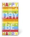 papieren-zakdoekjes-tissue-hanky-HAPPY DAY-vrolijke-dag-gekleurde-strepen-vlinders-Feest!