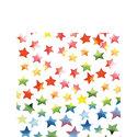 papieren-cocktail-servetten-Ambiente-COLOURFUL-STARS-mix-gekleurde-sterren-25x25cm