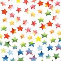papieren-servetten-lunch-diner-Ambiente-COLOURFUL-STARS-mix-gekleurde-sterren-33x33cm