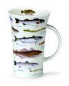 Dunoon-Glencoe,beker-mug-mok-SEA FISH-zoutwatervis-zeevis-vissen-wijting-makreel-inhoud-500ml