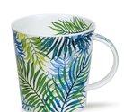 Cairngorm-XL-beker-mok-ORINOCO-BLUE-varens-blauw-groen-Caroline Bessey-480ml-Dunoon