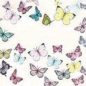Ambiente-papieren-lunch-diner-servetten-BUTTERFLY-White-vlinders-wit