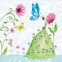 PPD-papieren-servetten-cocktail-FLOWER-FAIRY-bloemen-fee
