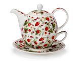 Dunoon-Tea_for_one-aardbei-aarbeitjes-lieveheersbeestjes