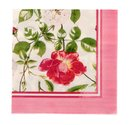 Ulster Weavers-papieren-servetten-RHS-TRADITIONAL ROSES-Rozen-lunch-diner-33x33cm