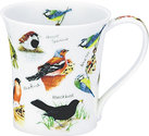 Dunoon-fine-bone-China-beker-mok-JURA-Birdlife-vogels-Pimpelmees