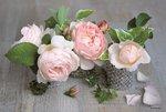 Dunne-kunststof-placemats-PP-COMPOSITION DES ROSES-Rozen-Pioenrozen-45x30cm-Romantische-afbeelding