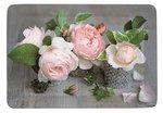 dienblad-melamine-Easy Life-Small-COMPOSITION DES ROSES-Pioenrozen-rozen-bloemen-21,5x16cm