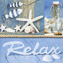 Papieren-servet-zee-strand-maritiem-time-to-relax