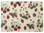 placemats-RHS-STRAWBERRY-Aardbeien-pk/4-Small-29x21cm