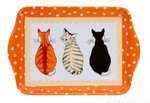 Scatter-tray-20x15cm-dienblad-small-katten-cats-waiting-NEW