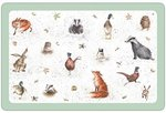 dunne-kunststof-placemats-PP-WRENDALE-Design-Country-Bosdieren-43x28cm-Pimpernel-Hannah Dale-