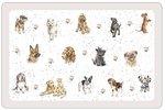 dunne-kunststof-placemats-PP-WRENDALE-Design-Dogs-Honden-43x28cm-Pimpernel-Hannah Dale-
