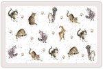 dunne-kunststof-placemats-PP-WRENDALE-Design-CATS-Katten-43x28cm-Pimpernel-Hannah Dale-