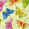 Paper+Design-servet-25x25-vlinders-flying-colours
