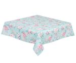 tafelkleed-zomer-groen-roosjes-100x100cm-Clayre & Eef