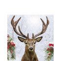 papieren-servetten-p/20-Ambiente-cocktail-25x25cm-DEER IN WINTER-hert-eland-gewei-kersttakken-sneeuw