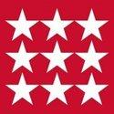 papieren-lunch-servetten-STARS-NEG.-RED-sterren-negatief-rood-33x33cm-