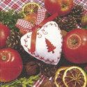 Papieren-serveten-Xmas-scents-kerst-geuren 25x25cm