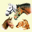 Ambiente-papieren-lunch-servetten-paarden