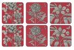 Onderzetters-Pimpernel-Etchings-Roses-set/6