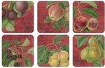Pimpernel-onderzetters-p/6-hookers-fruit-rood-melamine-kurk-