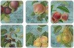 Pimpernel-onderzetters-melamine-kurk-p/6-hookers-fruit-teal-licht-blauw