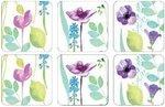 Onderzetters-Pimpernel-watergarden-white-aquarel-bloemen