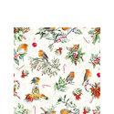 papieren-cocktail-servetten-Kerst-stukjes-CHRISTMAS-ORNAMENTS-Robins-25x25cm