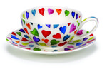 Dunoon-fine-bone-China-wijde-kop-schote-Warm-Hearts-geklerude-harten-250ml.