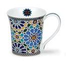 Dunoon-mug-beker-JURA-SHEIKH-blauw-blue-gold-goud-210ml