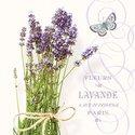 Ambiente-papieren-lunch-diner-servetten-33x33cm-BUNCH OF LAVENDER-Fleurs-Lavende-Lavendel