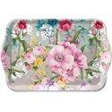 Ambiente-dienblaadje-tray-melamine-small-MEGHAN-flowers-bloemen-21x13cm-13713030