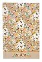 Ulster-Weavers-theedoek-katoen-Tea Towel-cotton-Design-BEE-KEEPER-bijen-imker-honingraad-geel-honing-geel-